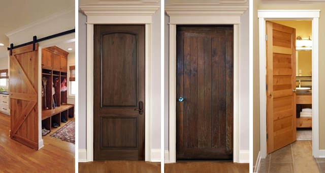 Exclusive Hand-crafted Knotty Alder Interior Doors & Wood Stain Interior Doors | Home Building Materials Wholesale and Supply